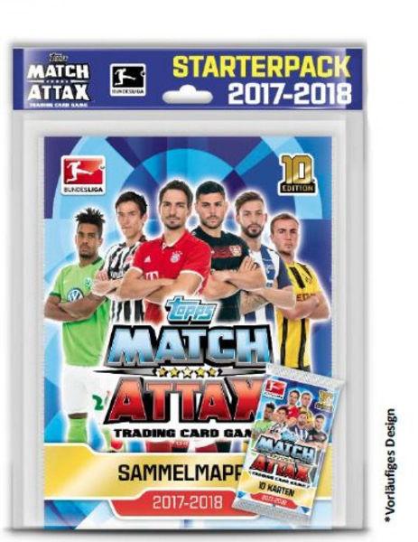 Bild von Match Attax Starter XL 2017/2018